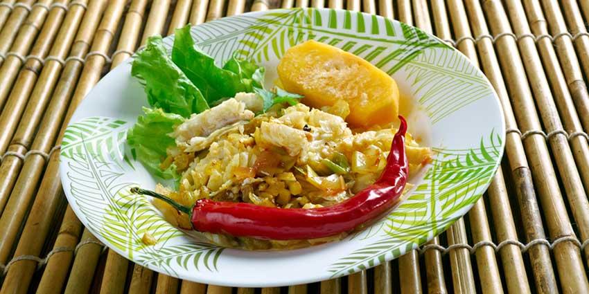 saltfish dish