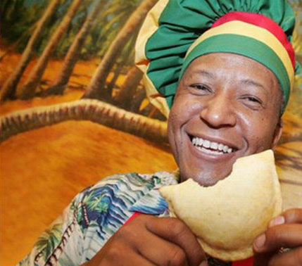 Caribbean style patties