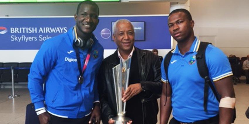 West Indian Cricket Team  Wade Lyn   Island Delight