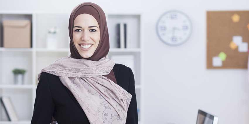 muslim headscarves at work