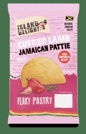 Curried Lamb Jamaican Pattie
