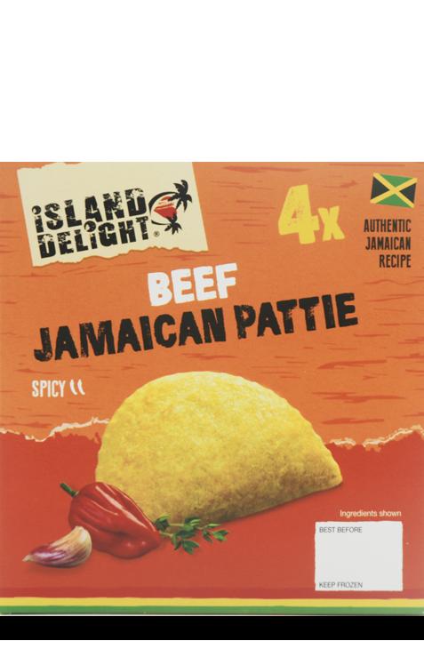 Beef Jamaican Pattie