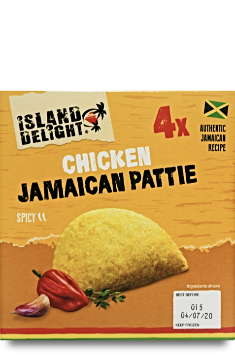 Chicken Jamaican Pattie
