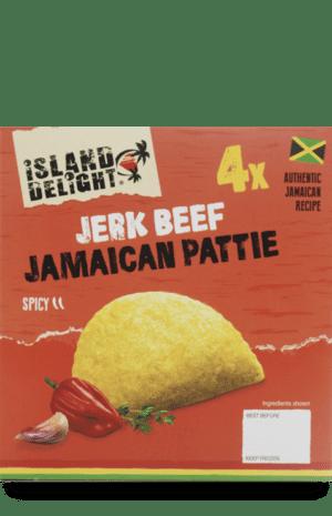 Jerk Beef Jamaican Pattie