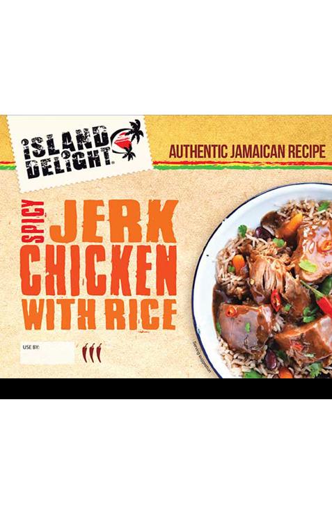 Spicy Jerk Chicken with Rice
