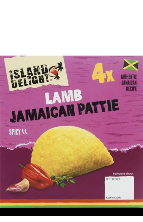 Lamb Jamaican Pattie