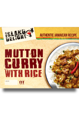 mutton Curry with rice