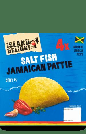 Salt Fish Jamaican Pattie