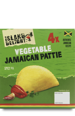 Vegetable Jamaican Pattie