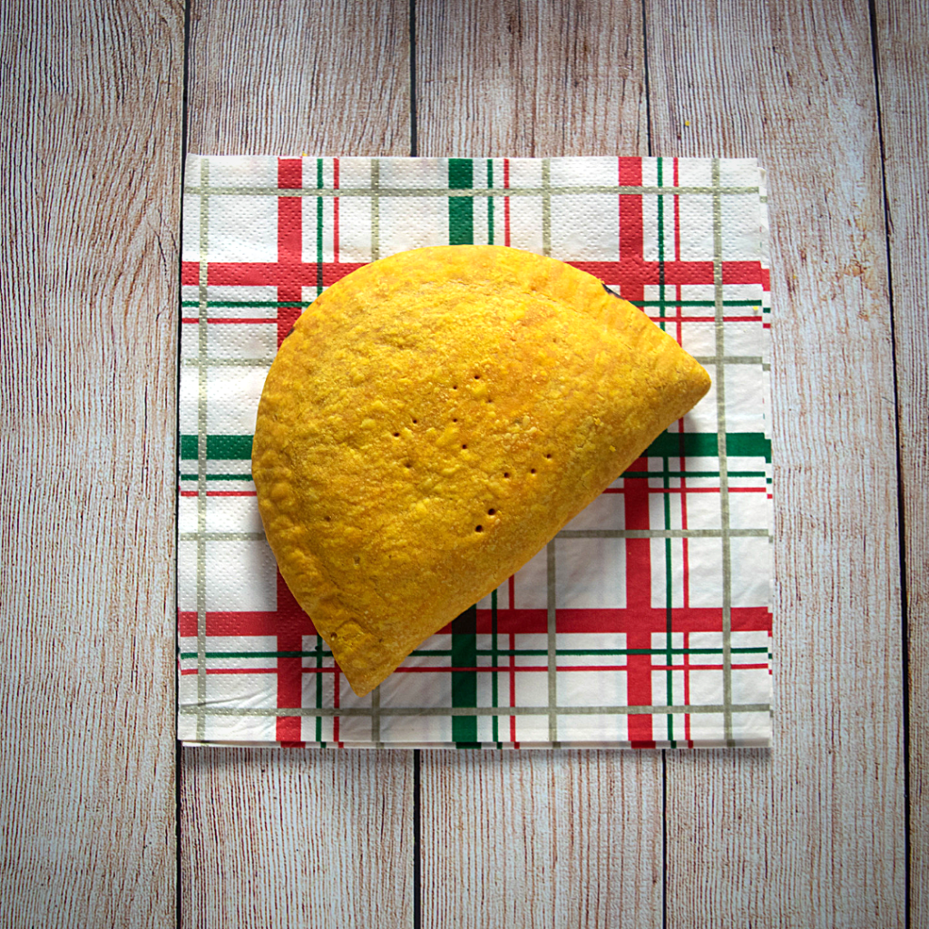 caribbean pattie - cornish pasty alternative